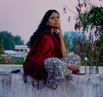 Salma on Wall